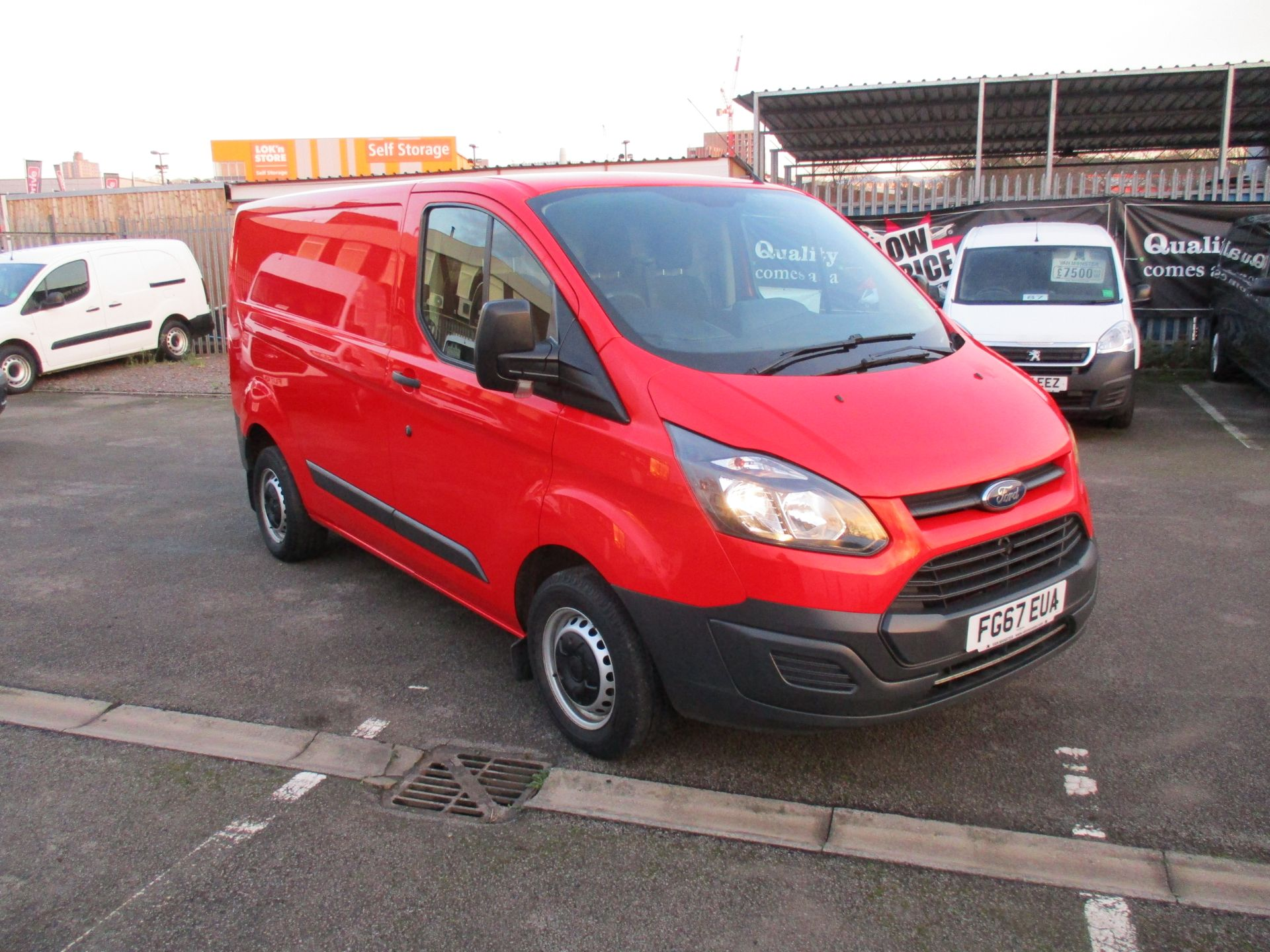 2017 Ford Transit Custom 2.0 Tdci 105Ps Low Roof Van (FG67EUA)