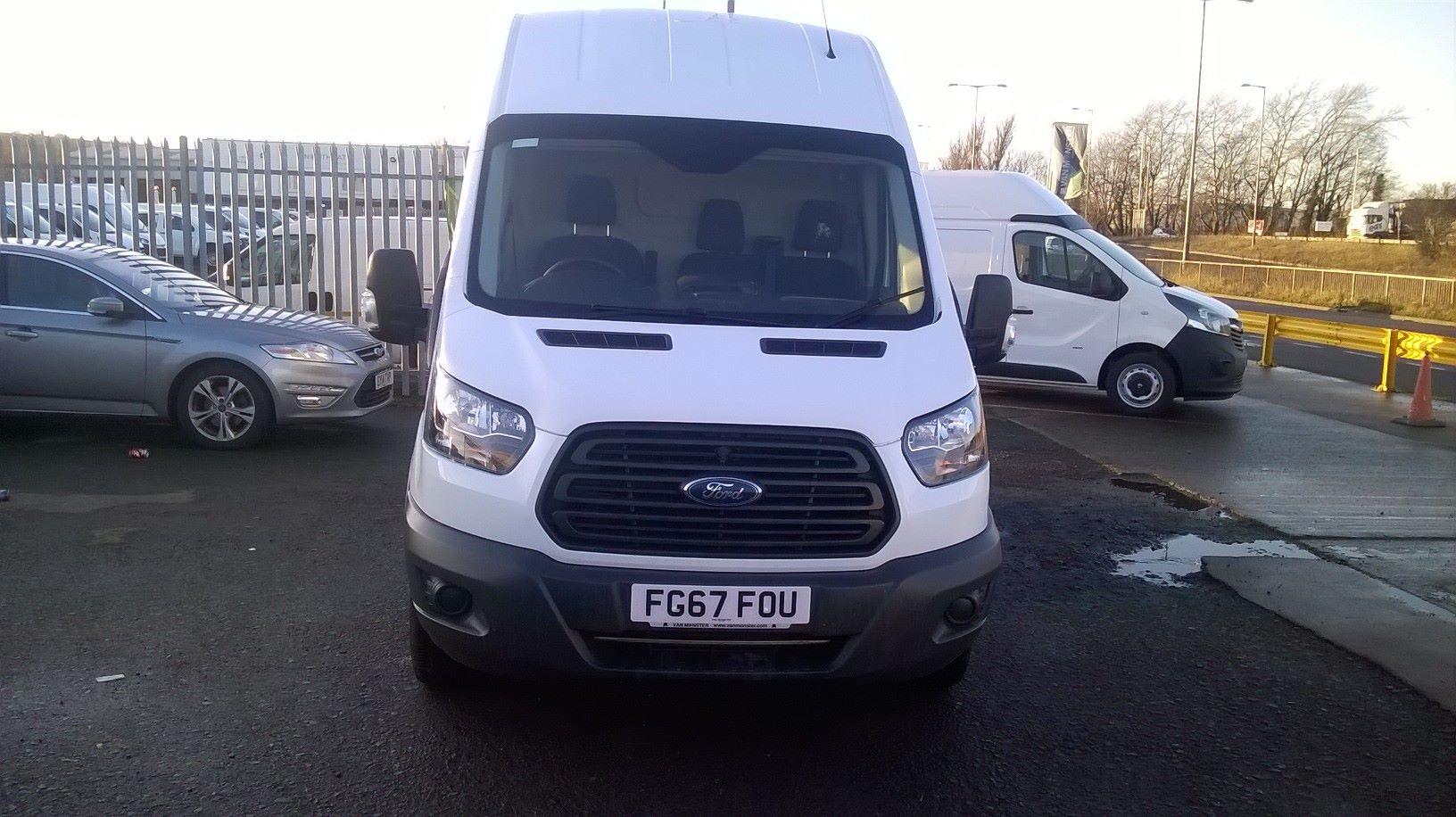 2017 Ford Transit L3 H3 VAN 130PS EURO 6 (FG67FOU) Image 2