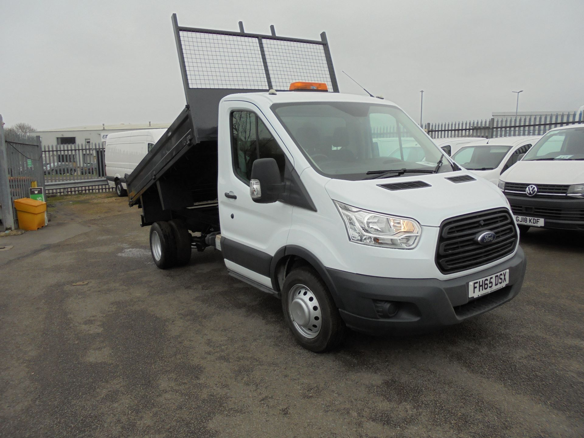 2015 Ford Transit 2.2 Tdci 125Ps tipper (FH65DSX)