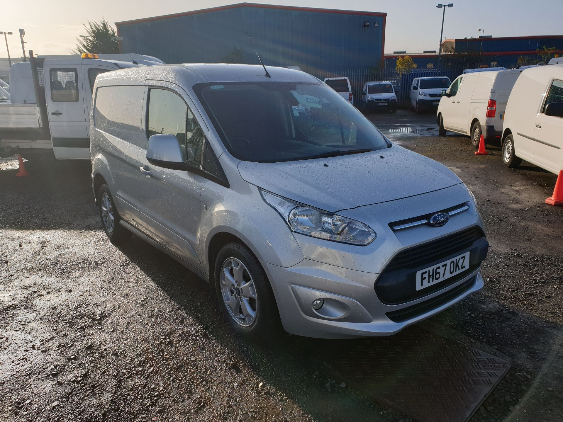 2017 Ford Transit Connect 1.5 Tdci 120Ps Limited Van (FH67OKZ)
