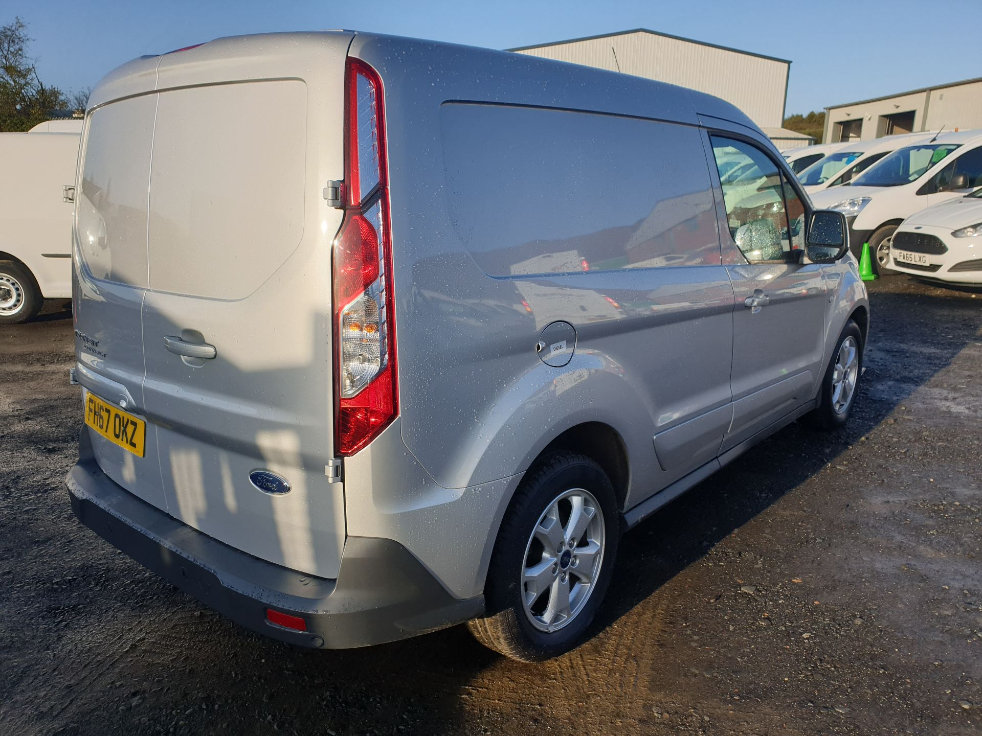 2017 Ford Transit Connect 1.5 Tdci 120Ps Limited Van (FH67OKZ) Image 7