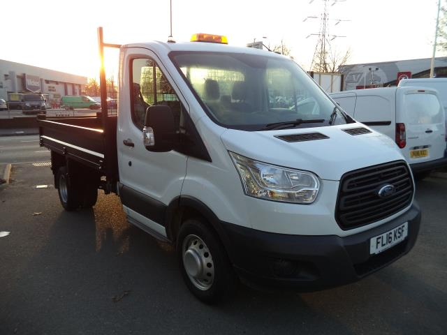 2016 Ford Transit L2 T350 SINGLE CAB TIPPER 125PS EURO 5 (FL16KSF)