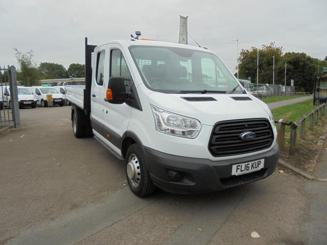 2016 Ford Transit T350 2.2 TDCI 125PS DOUBLE CAB TIPPER (FL16KUP)