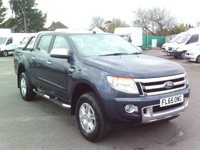 2015 Ford Ranger Pick Up Double Cab Limited 2.2 Tdci 150 4Wd Auto (FL65OWC)