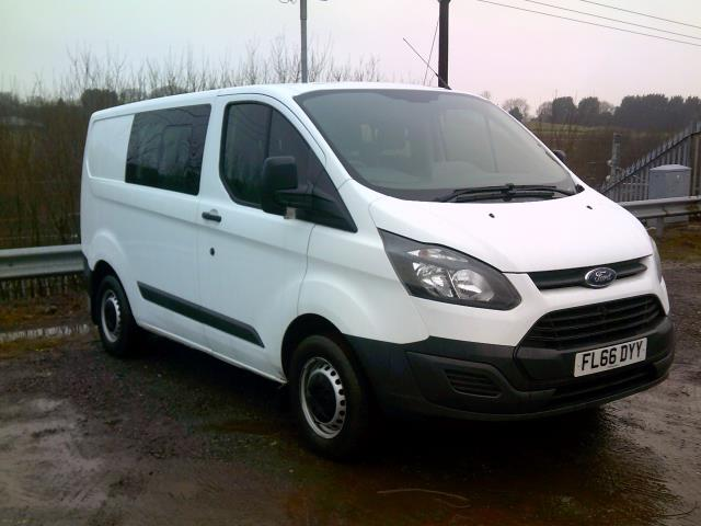 2016 Ford Transit Custom 2.2 Tdci 100Ps Low Roof D/Cab Van (FL66DYY)