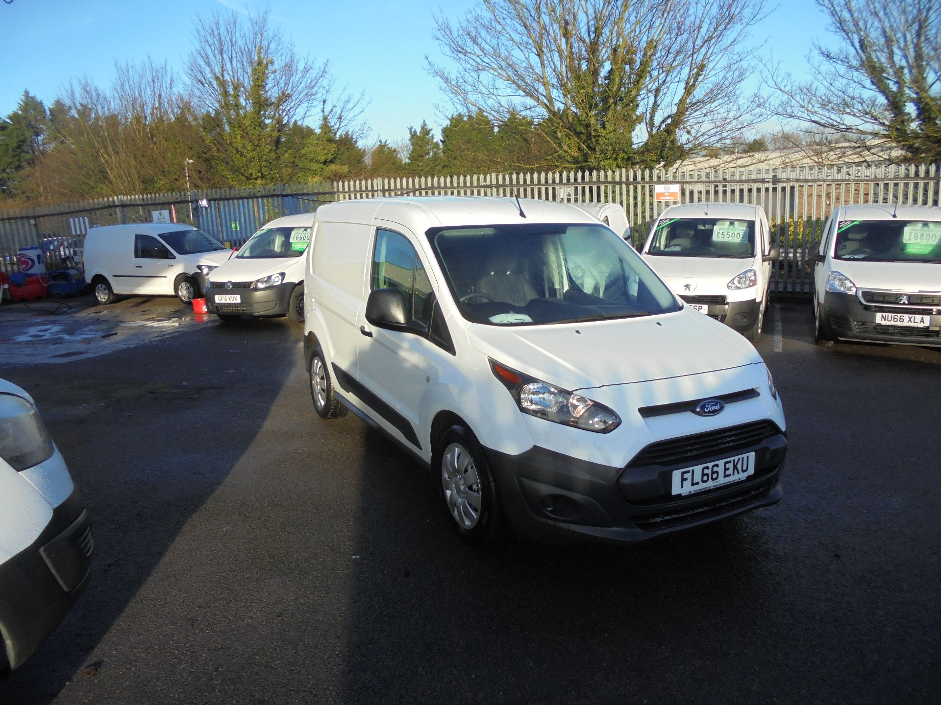 2016 Ford Transit Connect 1.5 Tdci 75Ps Van (FL66EKU)