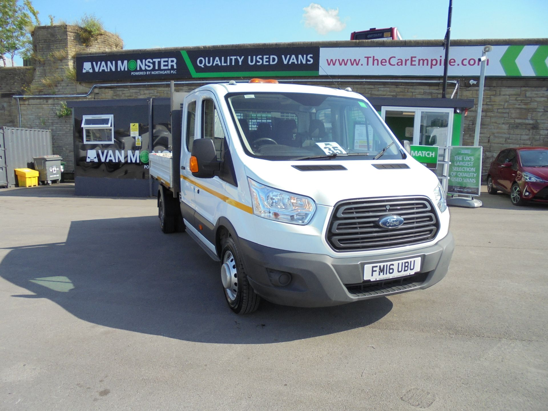 2016 Ford Transit 2.2 Tdci 125Ps Double Cab TIPPER (FM16UBU)
