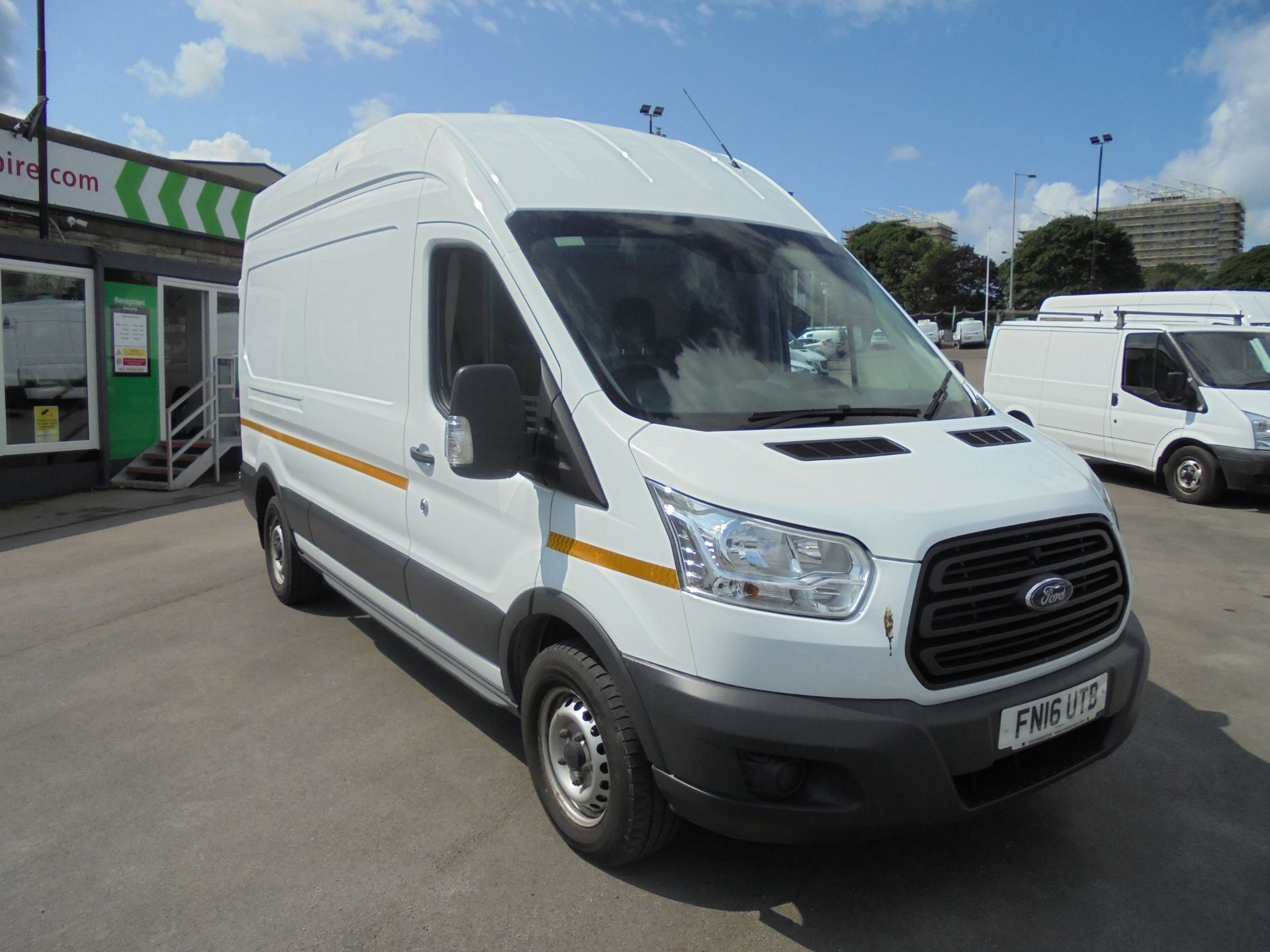 2016 Ford Transit 2.2 Tdci 125Ps H3 Van (FN16UTB) Image 1