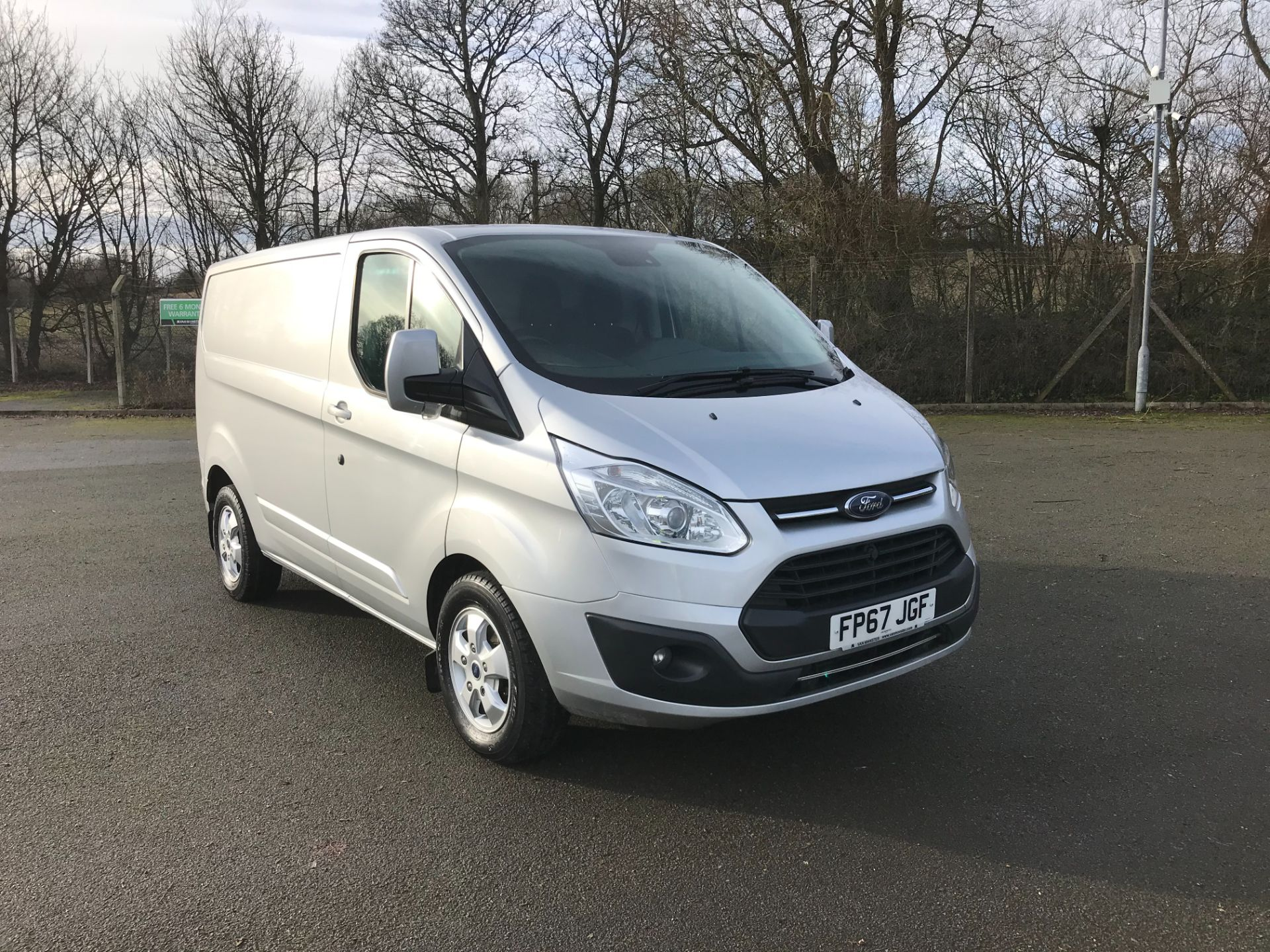 2017 Ford Transit Custom 290 L1 DIESEL FWD 2.0 TDCI 130PS LOW ROOF LIMITED VAN EURO 6 (FP67JGF)