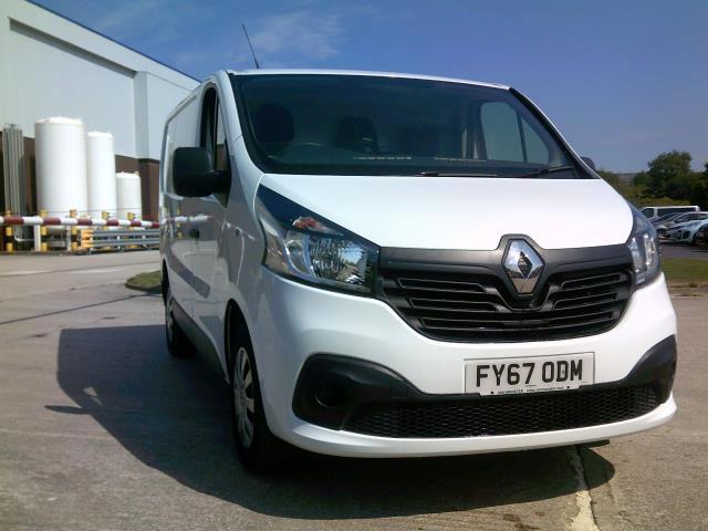 2017 Renault Trafic Sl27 Dci 120 Business+ Van AIR CON/ EURO5 (FY67ODM)