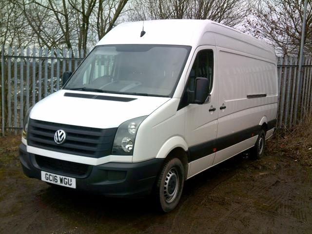 2016 Volkswagen Crafter 2.0 Tdi 136Ps High Roof Van (GC16WGU)