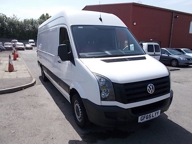 2015 Volkswagen Crafter  CR35 LWB 2.0 TDI 136PS HIGH ROOF EURO 5 (GF65LYY)