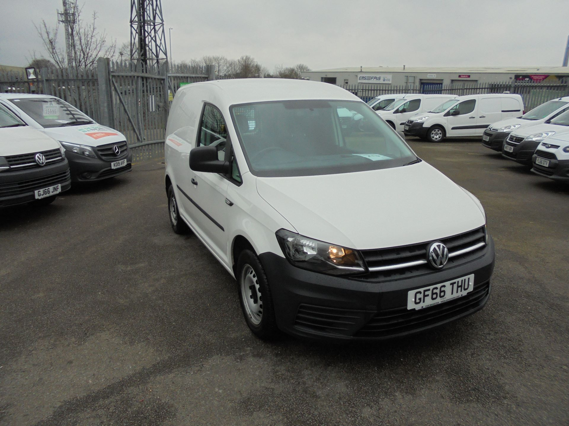 2016 Volkswagen Caddy 1.6 Tdi 102Ps Van (GF66THU)