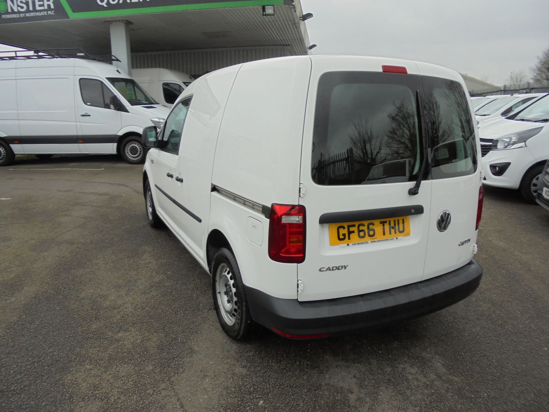 2016 Volkswagen Caddy 1.6 Tdi 102Ps Van (GF66THU) Thumbnail 7