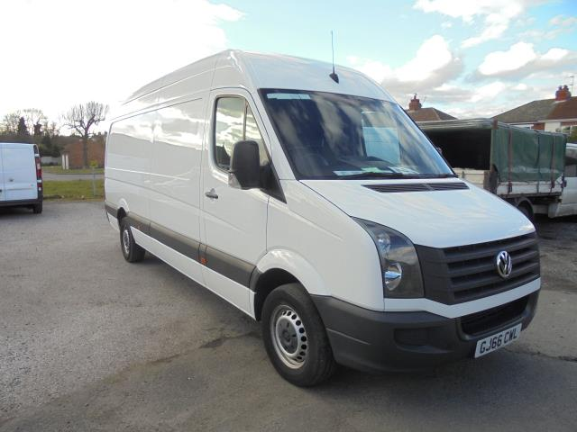 2016 Volkswagen Crafter 2.0 Tdi 136Ps High Roof Van LWB (GJ66CWL)