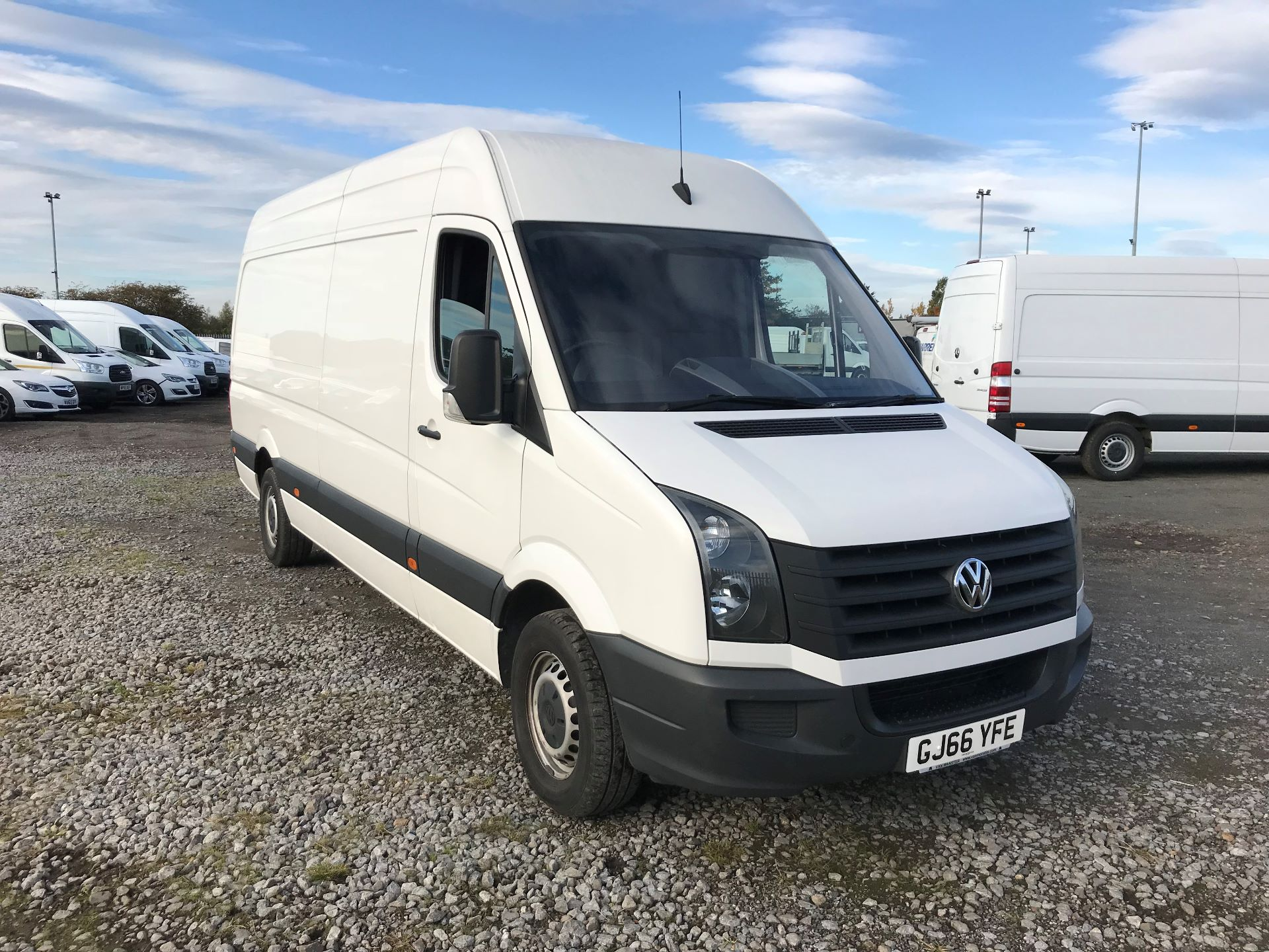 2016 Volkswagen Crafter 2.0 Tdi 136Ps High Roof Van (GJ66YFE)