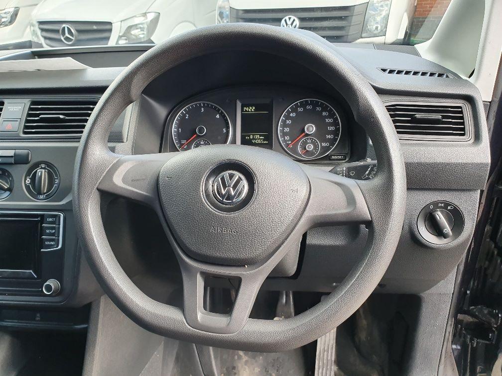 2017 Volkswagen Caddy 2.0 Tdi Bluemotion Tech 102Ps Startline Van (GK17XPM) Image 9