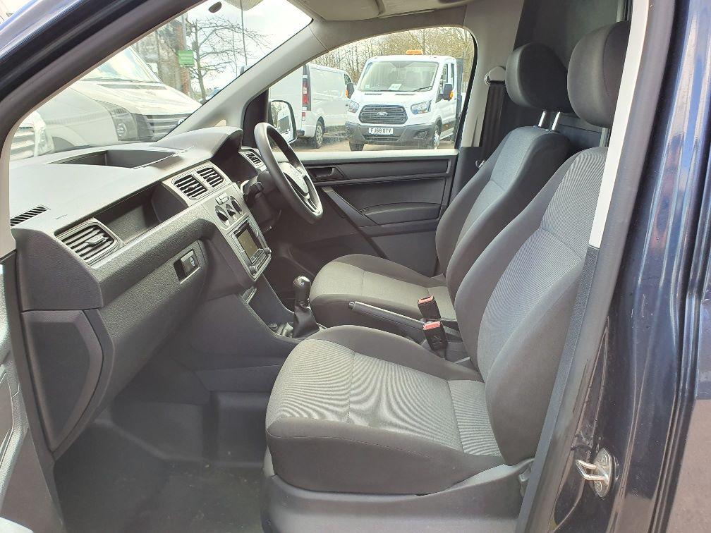 2017 Volkswagen Caddy 2.0 Tdi Bluemotion Tech 102Ps Startline Van (GK17XPM) Image 16