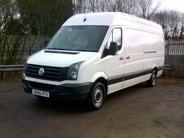 2016 Volkswagen Crafter CR35 LWB HIGH ROOF 136PS (GK66HTX) Image 3