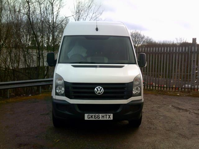 2016 Volkswagen Crafter CR35 LWB HIGH ROOF 136PS (GK66HTX) Image 2