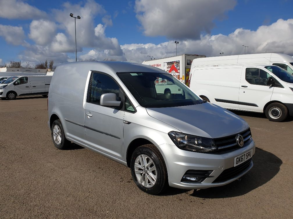 2017 Volkswagen Caddy 2.0 TDI BLUEMOTION TECH 102PS HIGHLINE VAN EURO 6 (GK67SPU)