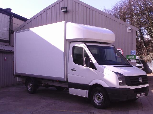 2016 Volkswagen Crafter 2.0 Tdi 136Ps Chassis Cab (GL66ZFW)