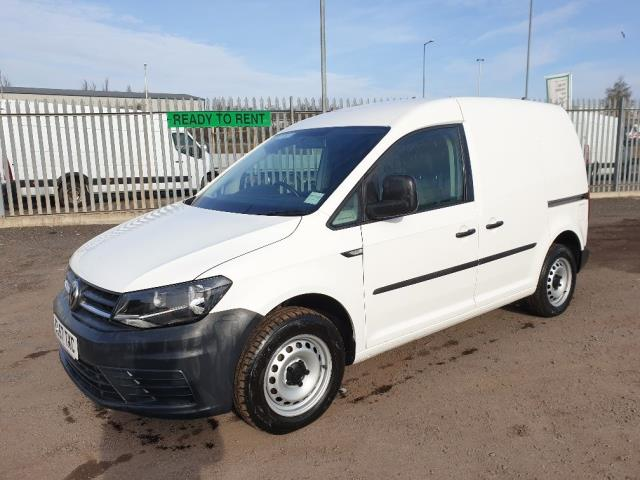 2017 Volkswagen Caddy 2.0 102PS BLUEMOTION TECH 102 STARTLINE EURO 6 (GL67TXC) Image 3