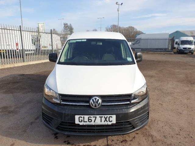 2017 Volkswagen Caddy 2.0 102PS BLUEMOTION TECH 102 STARTLINE EURO 6 (GL67TXC) Image 2