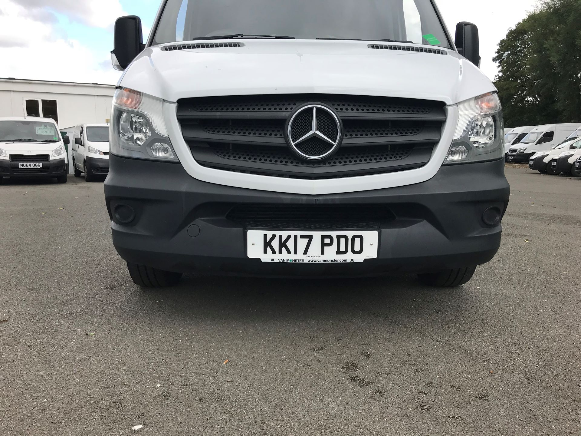 2017 Mercedes-Benz Sprinter  314 LWB H/R VAN EURO 6 (KK17PDO) Image 13