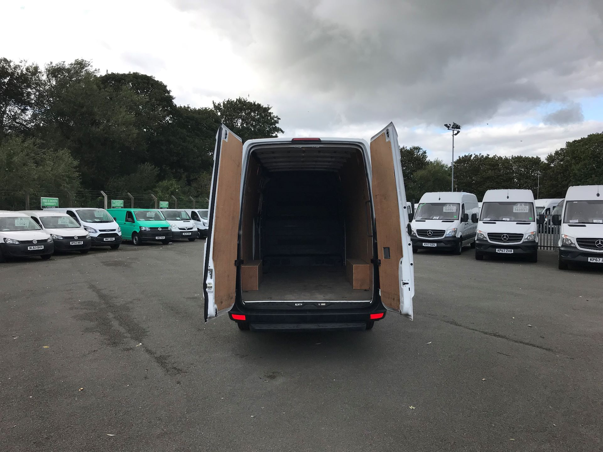 2017 Mercedes-Benz Sprinter  314 LWB H/R VAN EURO 6 (KK17PDO) Image 8