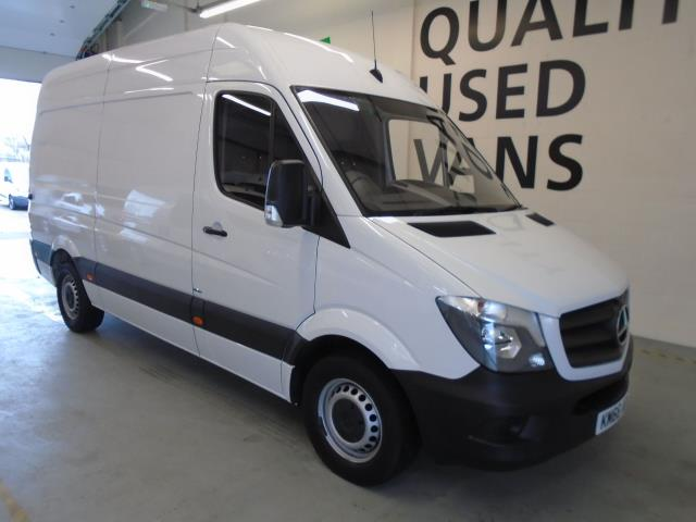 2016 Mercedes-Benz Sprinter 314CDi MWB High Roof 3.5T Van (KM66AOG)