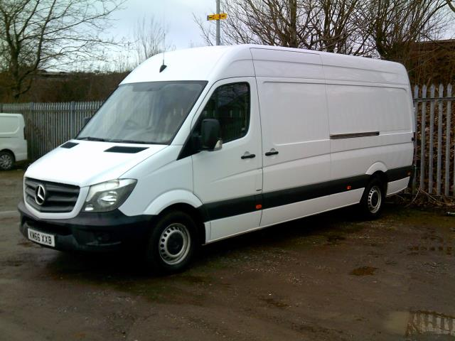 2016 Mercedes-Benz Sprinter 3.5T High Roof Van (KM66XXB)