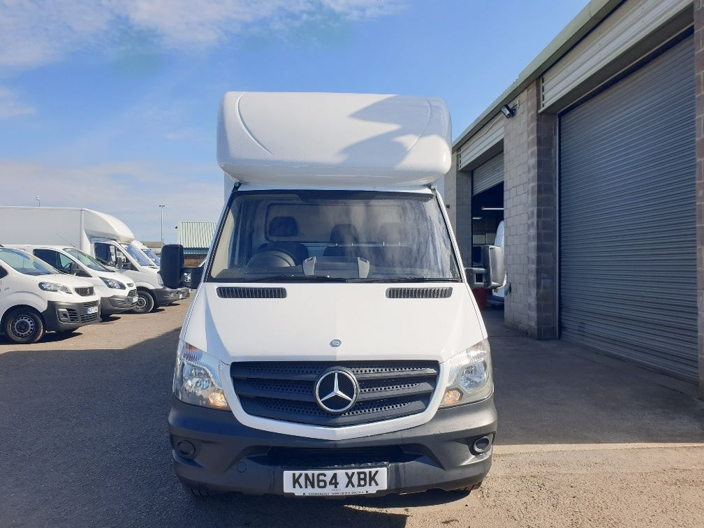 2014 Mercedes-Benz Sprinter 313 LWB LUTON EURO 5 WITH TAIL LIFT (KN64XBK) Image 2