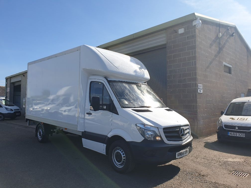2014 Mercedes-Benz Sprinter 313 LWB LUTON EURO 5 WITH TAIL LIFT (KN64XBK) Image 1