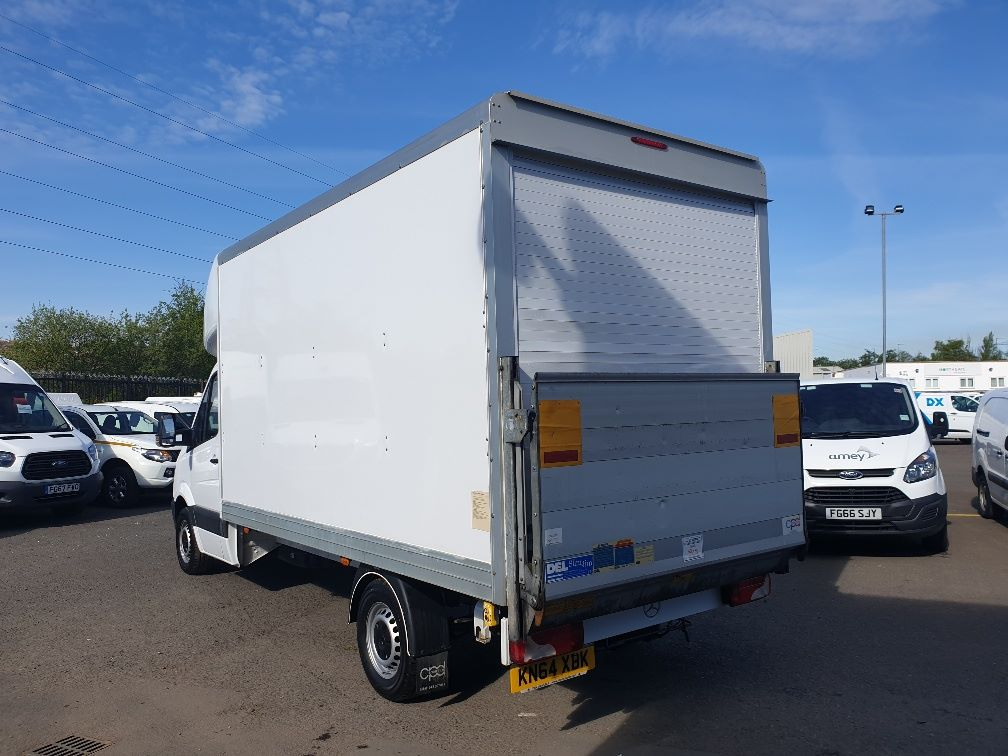 2014 Mercedes-Benz Sprinter 313 LWB LUTON EURO 5 WITH TAIL LIFT (KN64XBK) Image 6