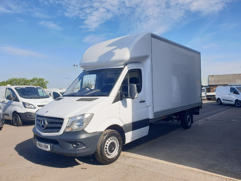 2014 Mercedes-Benz Sprinter 313 LWB LUTON EURO 5 WITH TAIL LIFT (KN64XBK) Image 3