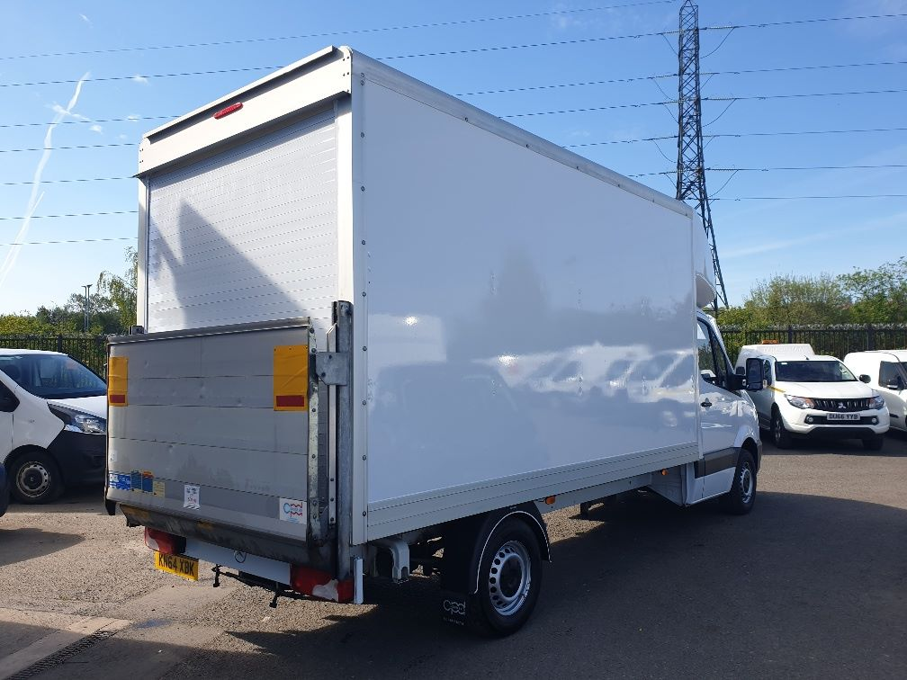 2014 Mercedes-Benz Sprinter 313 LWB LUTON EURO 5 WITH TAIL LIFT (KN64XBK) Image 9