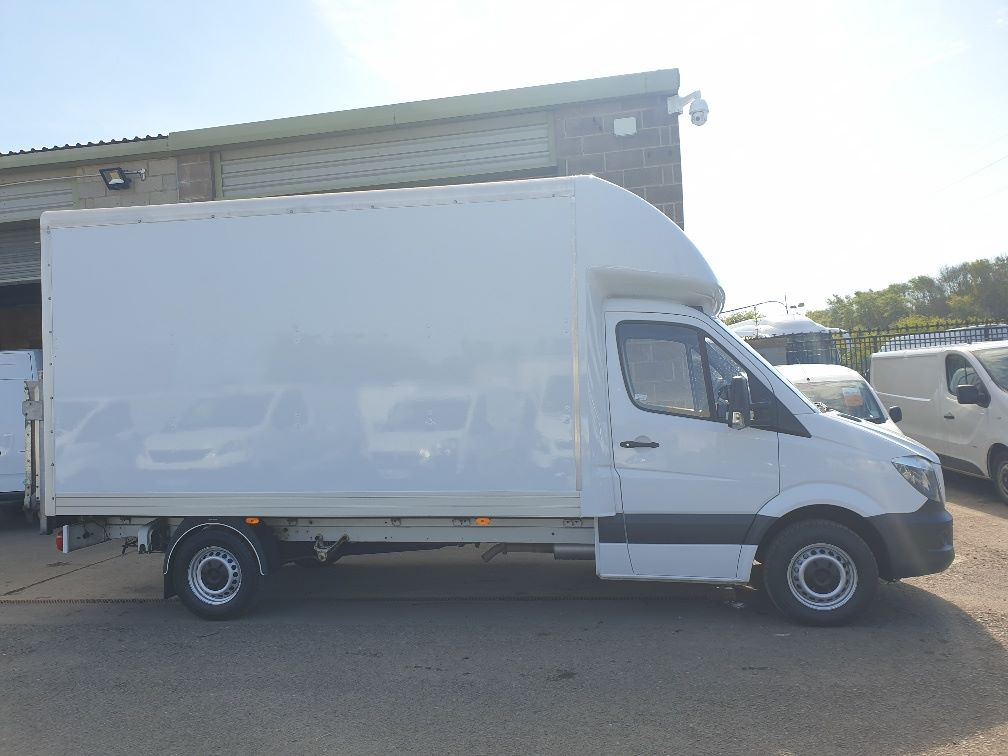 2014 Mercedes-Benz Sprinter 313 LWB LUTON EURO 5 WITH TAIL LIFT (KN64XBK) Image 10