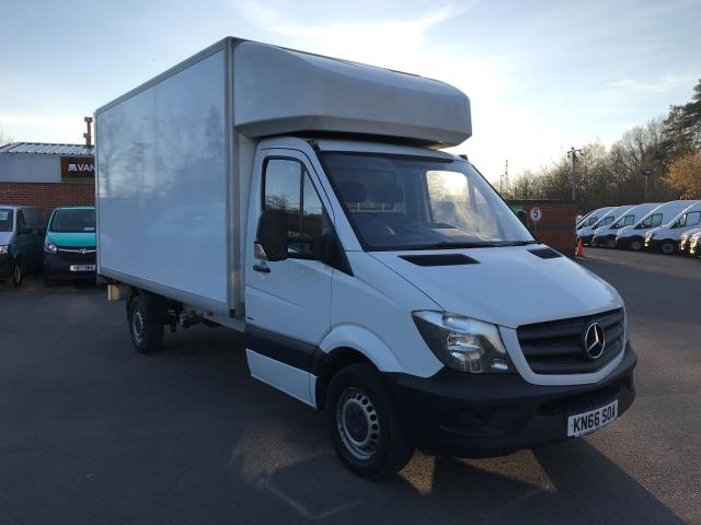 2016 Mercedes-Benz Sprinter 313 LWB LONG LUTON EURO 6 (KN66SOA) Thumbnail 1