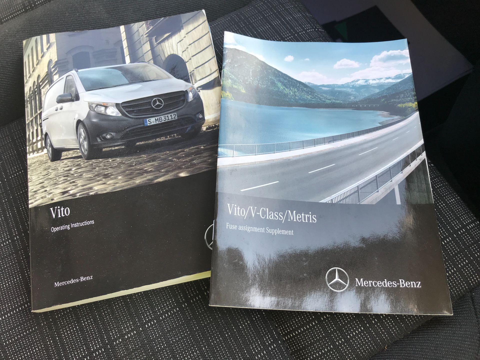 2017 Mercedes-Benz Vito 111CDI LWB 110PS EURO 6 (KN67UVX) Image 24
