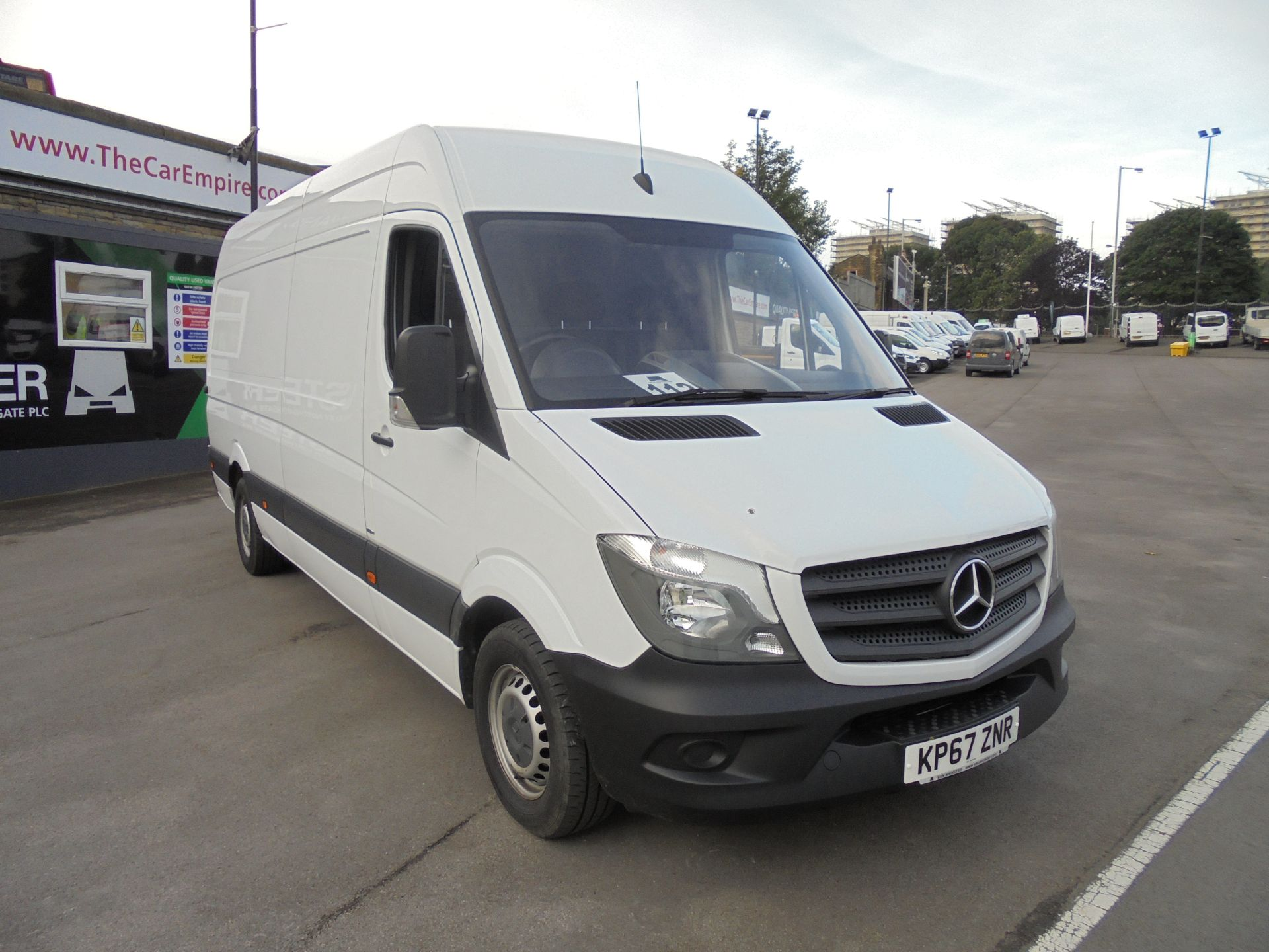 2017 Mercedes-Benz Sprinter 3.5T High Roof Van LWB (KP67ZNR)