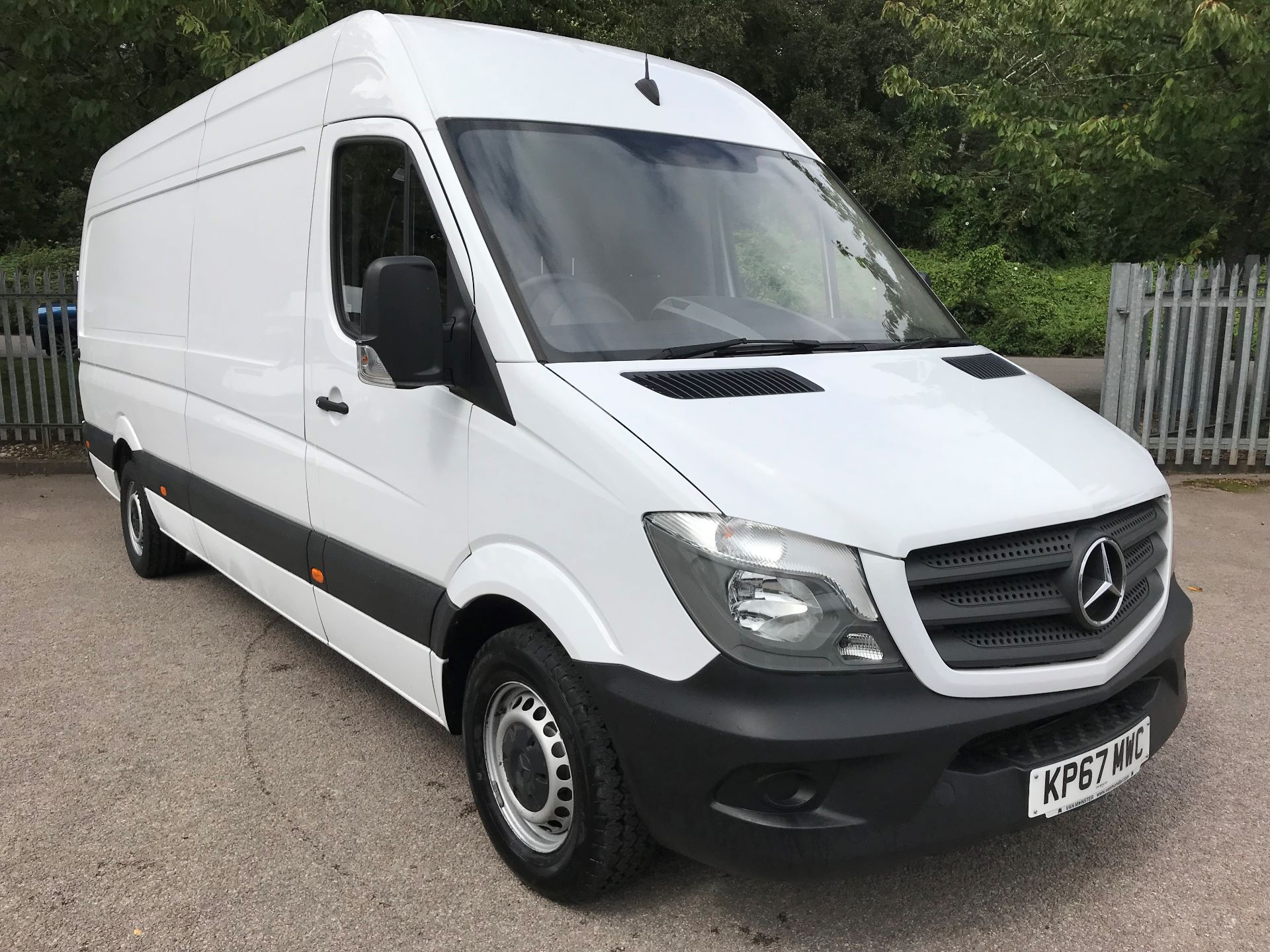 2017 Mercedes-Benz Sprinter 3.5T High Roof Van Euro 6 (KP67MWC)