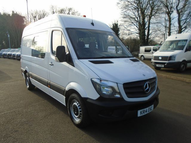 2014 Mercedes-Benz Sprinter 313 CDI MWB 3.5t High Roof Welfare Van (KR14EKC)