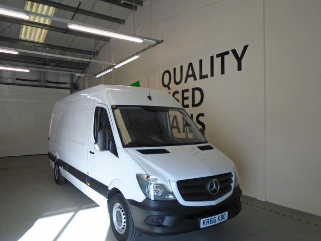 2016 Mercedes-Benz Sprinter 314CDi LWB High Roof Van (KR66KBO)