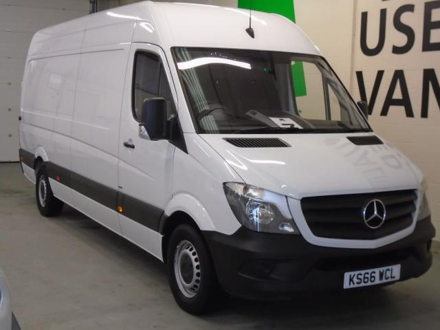 2016 Mercedes-Benz Sprinter 314CDi LWB High Roof Van 6 Speed (KS66WCL)