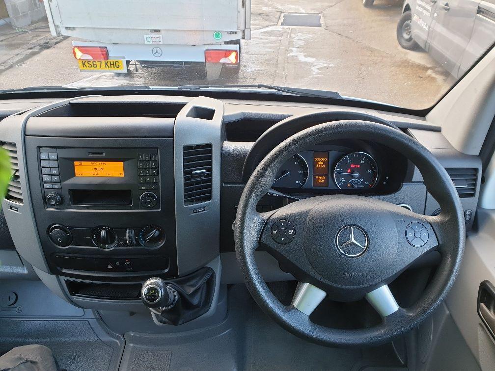 2018 Mercedes-Benz Sprinter 314 MWB H/R VAN EURO 6 (KT67XHF) Image 12