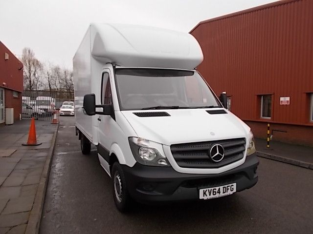 2014 Mercedes-Benz Sprinter 313 LWB LONG LUTON EURO 5 (KV64DFG)