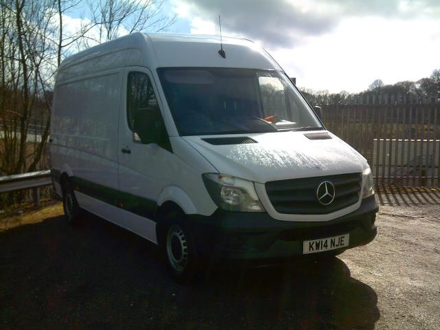 2014 Mercedes-Benz Sprinter 313cdi mwb High Roof 130ps (KW14NJE)