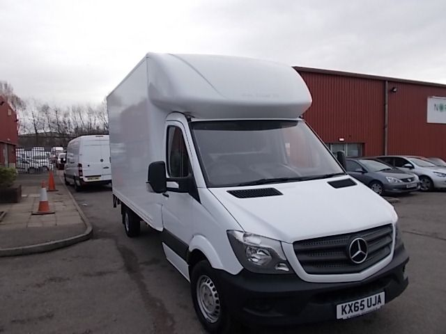 2015 Mercedes-Benz Sprinter 313 LWB LONG LUTON EURO 5 (KX65UJA)