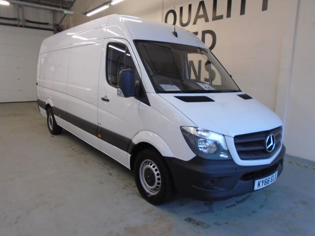 2017 Mercedes-Benz Sprinter 314 CDi LWB 3.5T High Roof Van (KY66ELX)